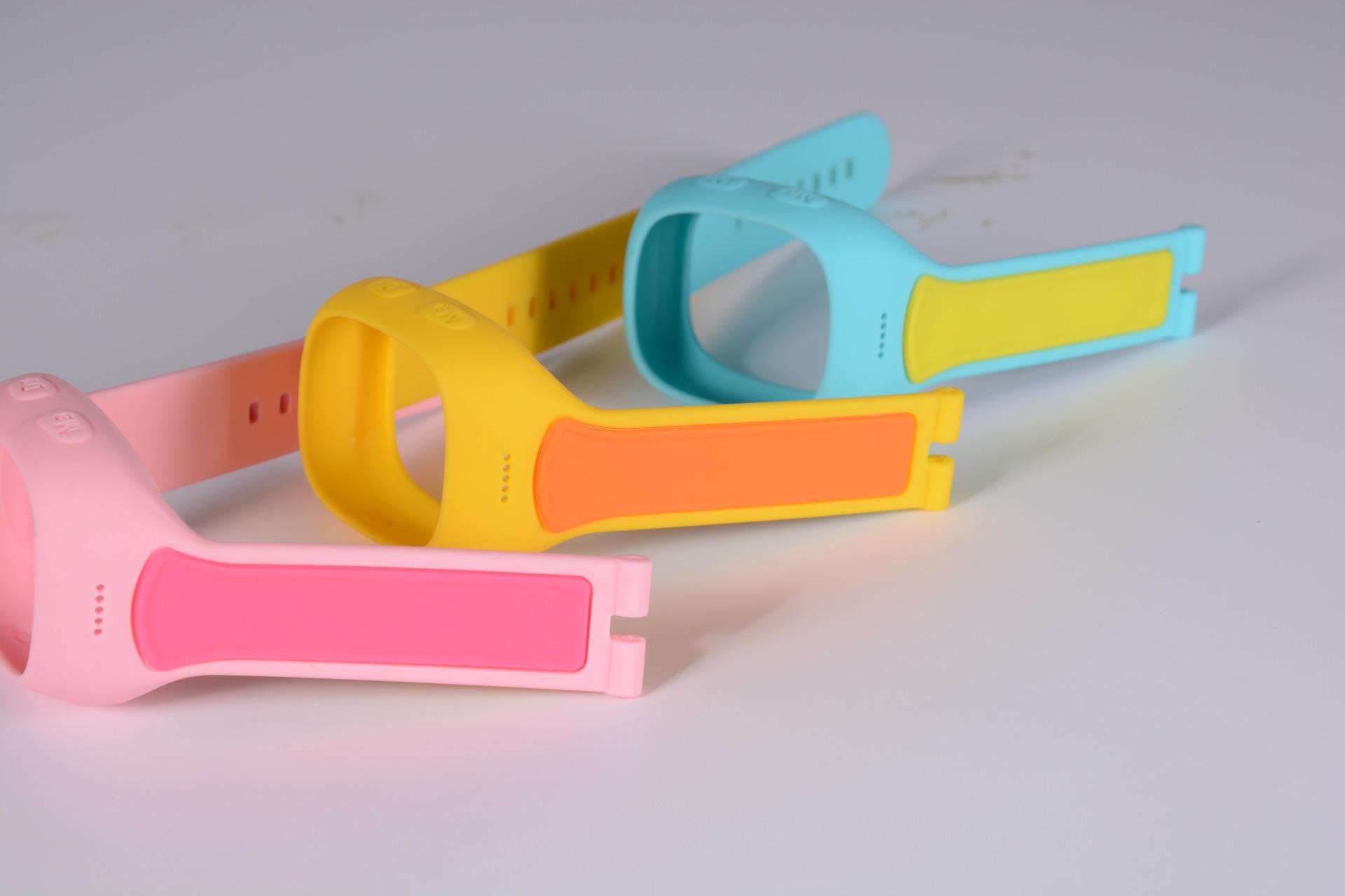 各种硅胶表带,双色,多色,包胶表带